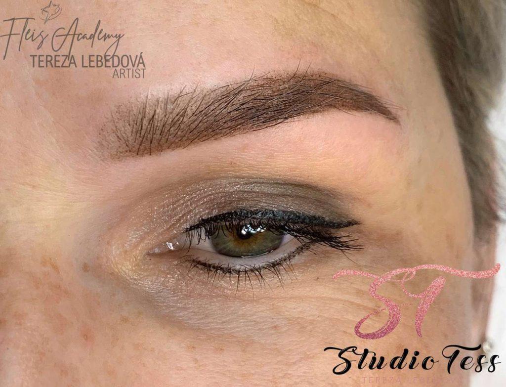 Permanentní make up obočí - Studio Tess - Kutná Hora - Bc. Tereza Lebedová